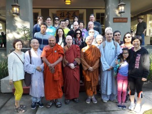 Jade Buddha Temple & Bhikkhu Bodhi@Walk to Feed The Hungry Nov 12, 2016