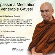 10-Day Vipassana Retreat April 2018